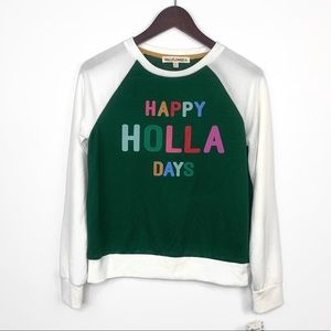 NWT Wallflower Happy Holla Days Sweater | M